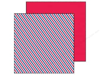 Doodlebug Paper 12 x 12 in. Stars & Stripes Air Mail (25 piece)