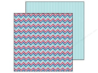 Doodlebug Paper 12 x 12 in. Stars &amp; Stripes Old Glory (25 piece)