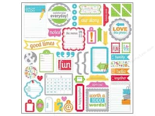 Doodlebug Stickers Cardstock This & That Take Note