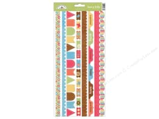 Doodlebug Stickers Cardstock Fancy Frills Flower Box