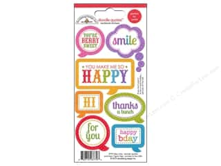 Clearance Stickers $0-$2: Doodlebug Sticker Doodle Quotes Fruit Stand