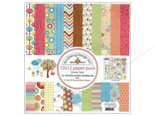 Doodlebug Paper Pack 12 x 12 in. Flower Box