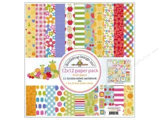 Doodlebug Paper Pack 12 x 12 in. Fruit Stand