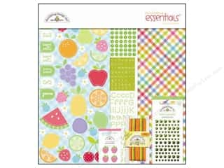 brads mini: Doodlebug Kit Essentials Paper Fruit Stand