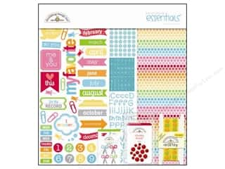 Clearance Doodlebug Doodle Pops Stickers: Doodlebug Kit Essentials Paper Take Note