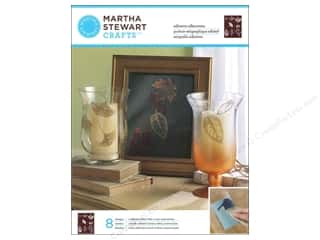 Martha Stewart Silkscreen Glass Leaves