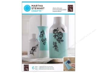 Martha Stewart Silkscreen Glass English Garden