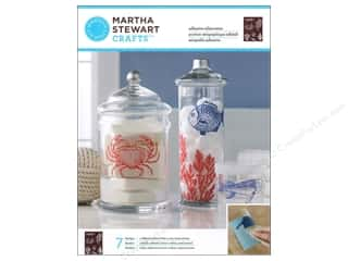 Martha Stewart Silkscreen Glass Ocean