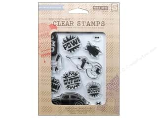 BasicGrey Clear Stamps 11 pc. Bam!