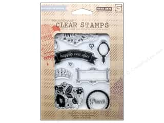 Rubber Stamping $10 - $61: BasicGrey Clear Stamps 10 pc. Knee Highs & Bow Ties Once Upon A Time