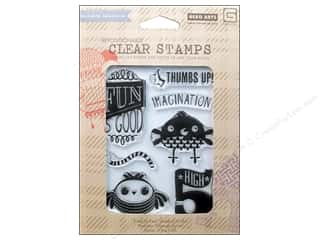 Clearance Plaid Stamps Clear: BasicGrey Clear Stamps 8 pc. High 5