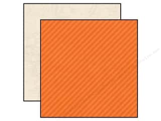 Simple Stories Paper 12 x 12 in. Urban Traveler Orange Stripe/Map (25 piece)