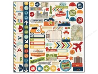 Simple Stories Sticker Urban Traveler Fundamentals