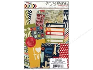 Simple Stories Cards 4 x 6 in. Snap Urban Traveler