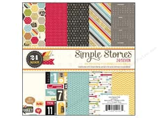 Simple Stories Paper Pad 6&quot;x 6&quot; 24/Seven