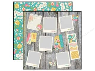 Simple Stories Paper 12 x 12 in. Vintage Bliss Smile Big (25 piece)