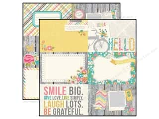 Simple Stories Paper 12 x 12 in. Vintage Bliss Journaling (25 piece)