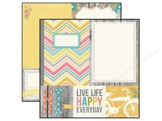 Simple Stories Paper 12 x 12 in. Vintage Bliss Photo Mat (25 piece)