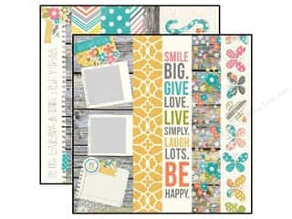 Simple Stories Paper 12 x 12 in. Vintage Bliss 2x12 Brdr (25 piece)