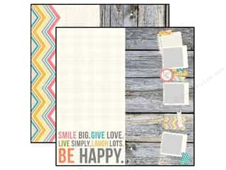 Simple Stories Paper 12x12 Vintage Bliss 6x12 Page (25 piece)