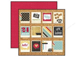 Simple Stories Paper 12x12 24/Seven Snapshots (25 piece)