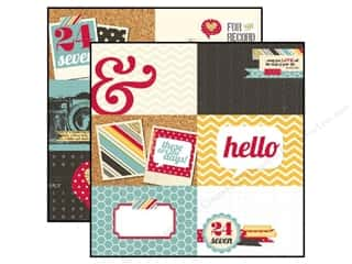 Simple Stories Paper 12x12 24/Seven 4x6 Horiz Jrnl (25 piece)