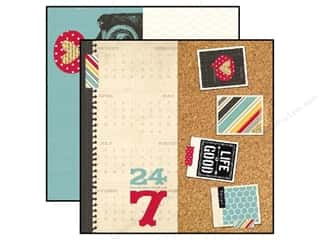 Simple Stories Paper 12x12 24/Seven Page Elements (25 piece)