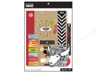 Cards K&Co Card & Envelopes: K&Company Smash Folio Bundle Red