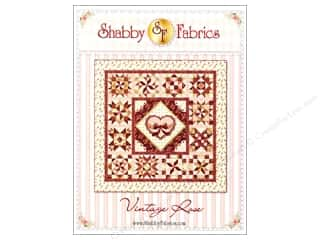 Quilt in a Day Borders: Shabby Fabrics Vintage Rose Pattern