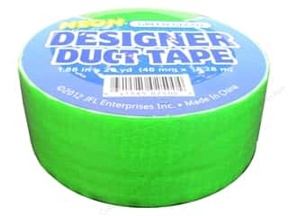 Just For Laughs Neon: Duct Tape Neon Green Gecko 20 yd.
