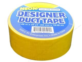 Just For Laughs: Duct Tape Neon Taxi Cab Yellow 20 yd.