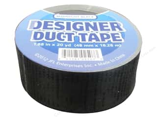 Just For Laughs Black: Duct Tape Midnight Black 20yd