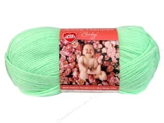 Clearance Red Heart Baby Clouds Yarn: Red Heart Anne Geddes Baby Yarn #0623 Spearmint 3.5 oz.