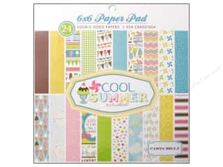 Carta Bella Paper Pad 6&quot;x 6&quot; Cool Summer