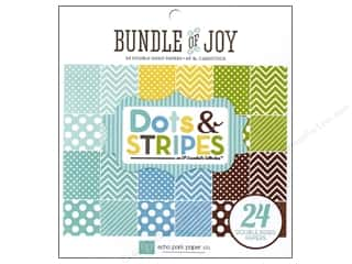 Echo Park Paper Pad 6x6 Boy Dots &amp; Stripes