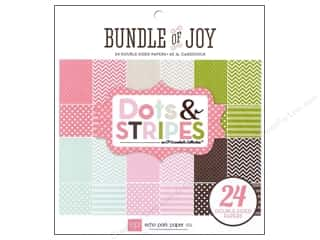 Echo Park Paper Pad 6x6 Girl Dots &amp; Stripes