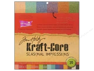 Clearance Coredinations Cardstock Packs: Coredinations Cdstk 12x12 THoltz Kraft Core Season