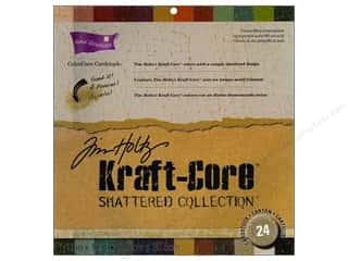 Coredinations Cdstk 12x12 THoltz Kraft Core Shattr
