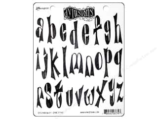 Rubber Stamping Clearance Crafts: Ranger Stamp Dylusions Rubber Dy's Alphabet