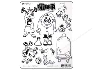 Clearance Blumenthal Favorite Findings: Ranger Dylusions Stamp Rubber Monster Mash