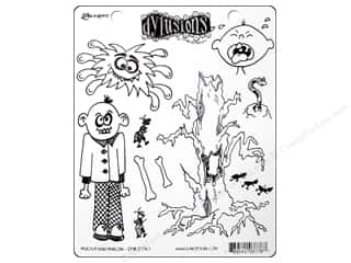 Ranger Clearance Crafts: Ranger Stamp Dylusions Rubber Mischievous Malcom