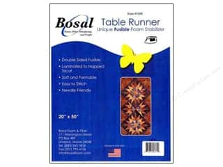 Interfacings Bosal Interfacing Shape: Bosal Fusible Foam Stabilizer 20 x 50 in. Table Runner
