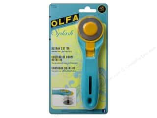 Clamps Scissors & Rotary Cutters: Olfa Rotary Cutter 45mm Splash