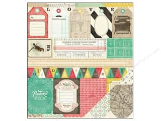 Crate Paper 12 x 12 in. Paper DIY Shop Borders (25 piece)