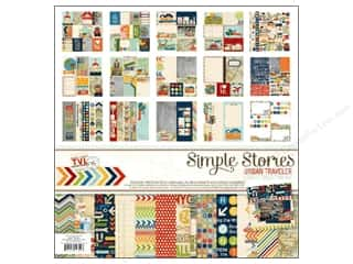 Simple Stories Collection Kit Urban Traveler