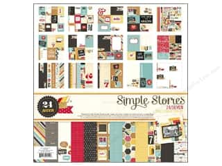 "Borders Sale: Simple Stories Kit 24/Seven Collection 12""x 12"""