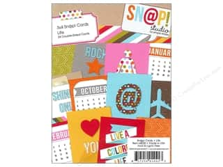 Simple Stories SN@P! Cards 3 x 4 in. Life