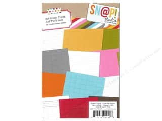 Simple Stories $4 - $6: Simple Stories SN@P! Cards 4 x 6 in. Just The Basics