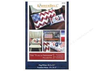 Hudson's Holidays Patterns: The Flag & Freedom Pillow Set Pattern