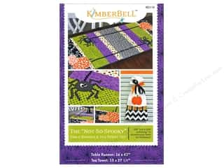 Common Thread Designs Table Runner & Kitchen Linens Patterns: Kimberbell Designs The Not So Spooky Halloween Pattern